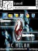 AC Milan Mobile Theme