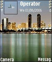 City Lights Mobile Theme