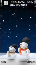 Christmas Snowman Mobile Theme