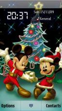 Disney Christmas Mobile Theme