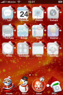 Holidays Christmas IPhone Theme Mobile Theme