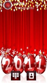 Happy New Year 2011 Theme Mobile Theme