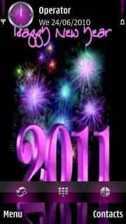 2011 New Year Theme Mobile Theme
