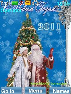 Christmas Santa Mobile Theme