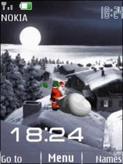 Santa Mobile Theme