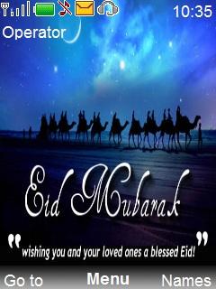 Happy Eid Mobile Theme