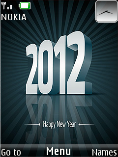 Happy New Year Mobile Theme