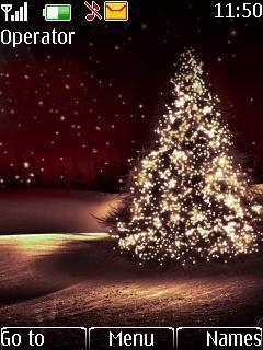 Christmas Tree Mobile Theme