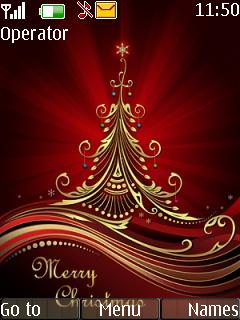 Merry Christmas Mobile Theme