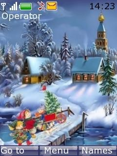 Lovely Winter Mobile Theme