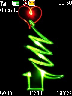 Xmas Tree Mobile Theme