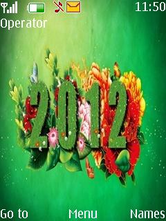 Nature 2012 Mobile Theme