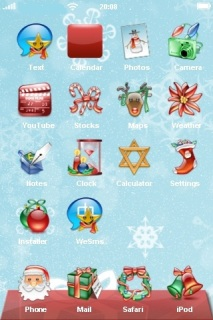 Christmas Gifts Mobile Theme