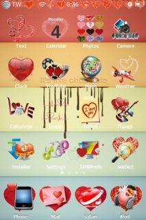 Christmas Gift Love IPhone Theme Mobile Theme