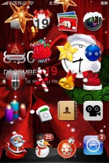 Christma 2015 Day IPhone Theme Mobile Theme