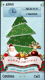 Santa Merry Christmas Nokia Theme Mobile Theme