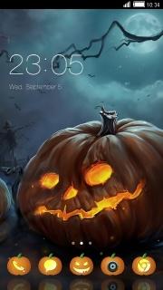 Halloween Night Free Android Theme Mobile Theme