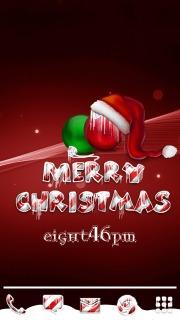 Christmas Ice & Balls Android Theme Mobile Theme