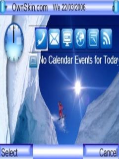 Sky Ski Mobile Theme
