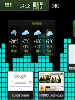 Color City Nokia N900 Theme Mobile Theme