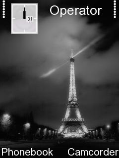 Effel Tower Mobile Theme
