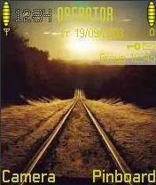 Railways Mobile Theme