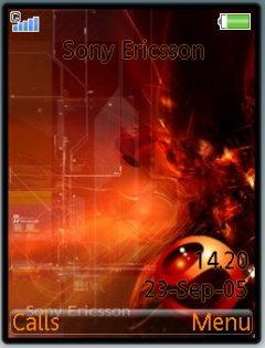 Sony Ericsson Logo Mobile Theme