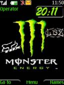 Monster Clock Mobile Theme