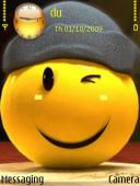 Animated Smile Mobile Theme