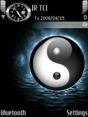Animated Ying Yang Mobile Theme