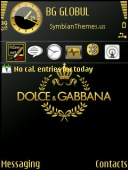 Dolce And Gabbana Mobile Theme