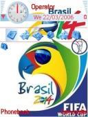 Fifa 2014 Brasil Mobile Theme
