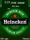 Heineken Mobile Theme
