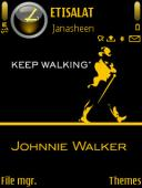Johnnie Walker Mobile Theme