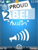 Proud To Be Muslim Mobile Theme