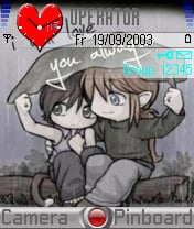 I Will Love You Always Theme Mobile Theme
