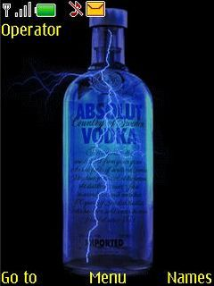 Absolut Vodka Mobile Theme