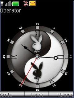 Yin Yang Clock S40 Nokia Theme Mobile Theme