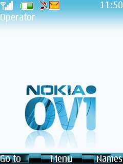 Nokia Ovi Mobile Theme