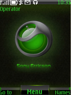 Sony Ericsson Reloaded Mobile Theme
