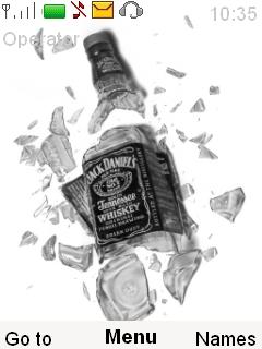 Jack Daniels Mobile Theme