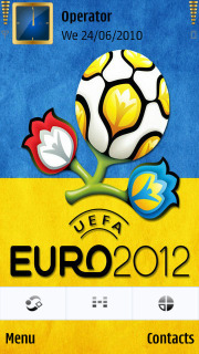 Ukraine,euro,logo-2012 Mobile Theme
