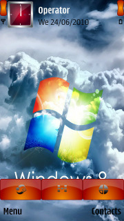Windows_8_Cloud Mobile Theme