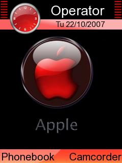 Red Apple Mobile Theme