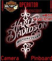 Harley Davidson Mobile Theme
