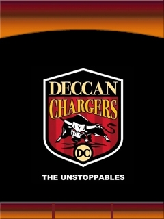 Deccan Chargers Mobile Theme