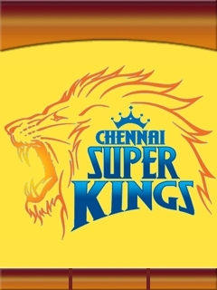 Chennai SuperKings Mobile Theme