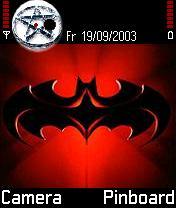 Batman Theme Mobile Theme