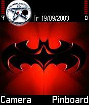 Batman Theme Mobile Theme