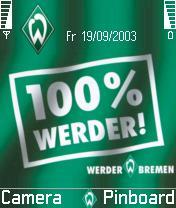 Unofficial SV Werder Bremen Mobile Theme